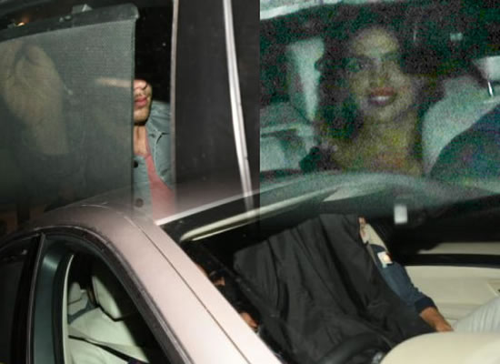 Priyanka and Nick to avoid the paparazzi as they arrive in India together!
