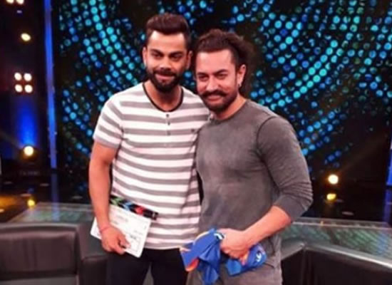Virat Kohli is a straight-forward and genuine person, says Aamir Khan!