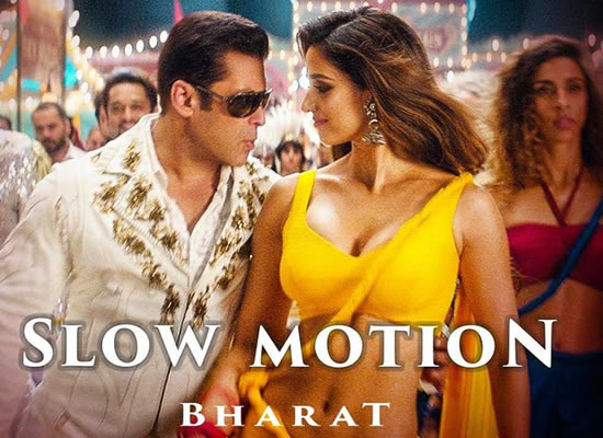 Slow Motion song of film Bharat at No. 1 from 2nd Aug to 8th Aug!