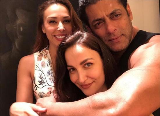 Salman and Iulia's happy moments with friend Elli AvrRam!