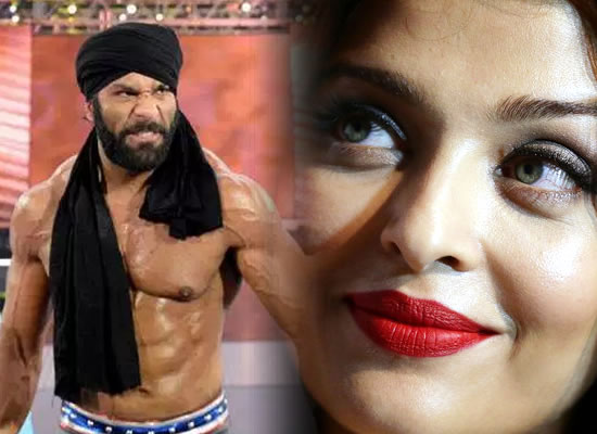I had a huge crush on Aishwarya Rai Bachchan while growing up, says WWE superstar Jinder Mahal!