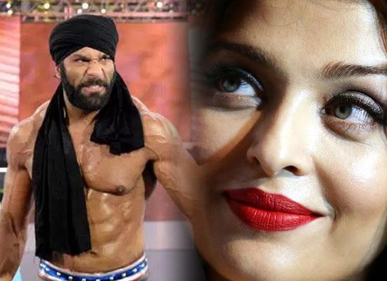 I had a huge crush on Aishwarya Rai Bachchan while growing up, says WWE superstar Jinder Mahal!