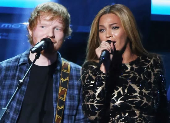 Beyonce changes her email address every week, says Ed Sheeran!