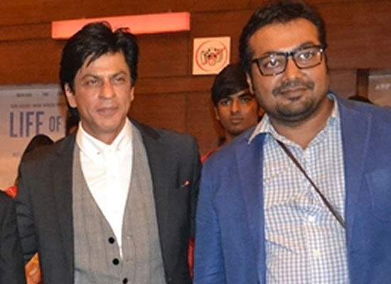 If Shah Rukh Khan scolds me, I'll sit in a corner and cry, says Anurag Kashyap!