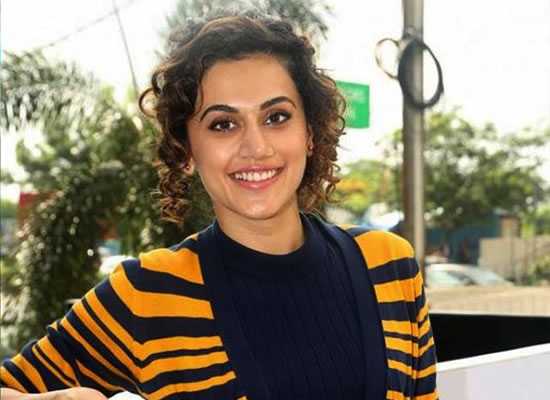 I am pretty shameless about striking up a conversation, says Taapsee Pannu!