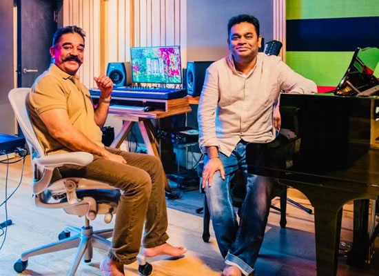 Kamal Haasan and A R Rahman to reunite again after 19 years for Thalaivan Irukkindraan!
