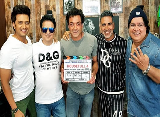 Akshay Kumar to start 25-day schedule of Housefull 4 in London!