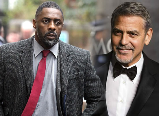 Idris Elba would be a perfect James Bond, says George Clooney!