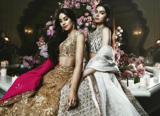 Jahnvi and Khushi Kapoor's dazzling avatar at Isha Ambani Anand Piramal Wedding!