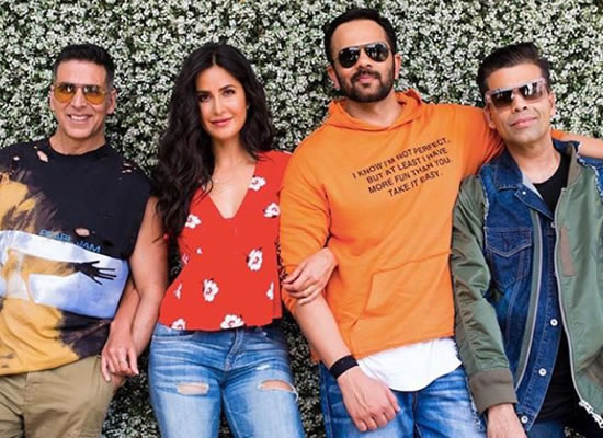 Akshay Kumar and Katrina Kaif to play man and wife in Rohit Shetty's Sooryavanshi!