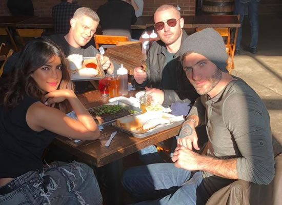 Priyanka goes on a lunch date with Quantico's co-stars!