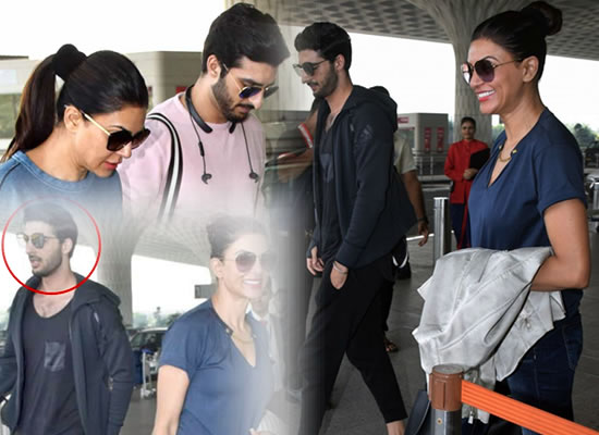 Is Sushmita Sen dating model Rohman Shawl?