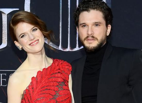 Kit Harington and Rose Leslie's fairytale presence at Game of Thrones Season 8 premiere!