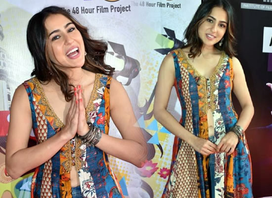Sara Ali Khan's lovely photo in an Indo Western outfit!