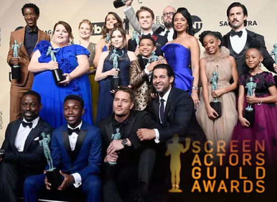 The full list of SAG Awards 2018's winners!
