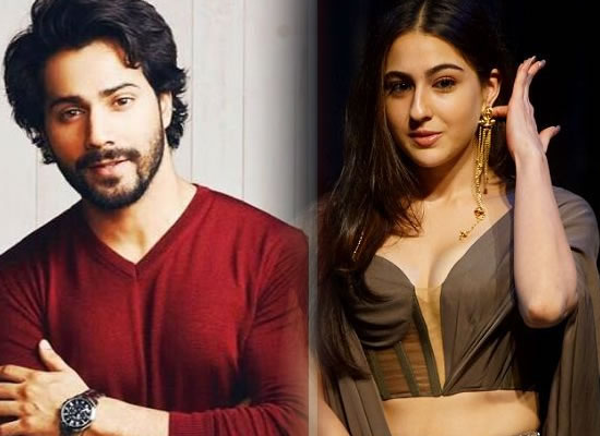Sara Ali Khan to play a leading lady in Varun Dhawan starrer Coolie No 1 remake!