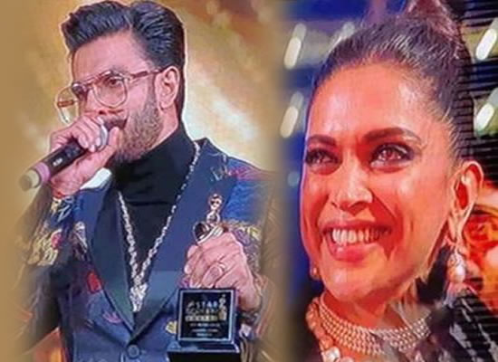 Ranveer Singh reveals about Deepika's emotional moment during the Best Actor Award!