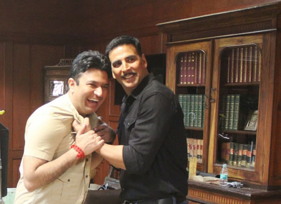 There are lot of similarities between Akshay and my father, says Bhushan Kumar!