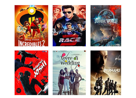 Latest Box Office for this week till 29th June, 2018!