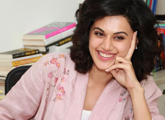 Women need to be their own heroes, says Taapsee Pannu!