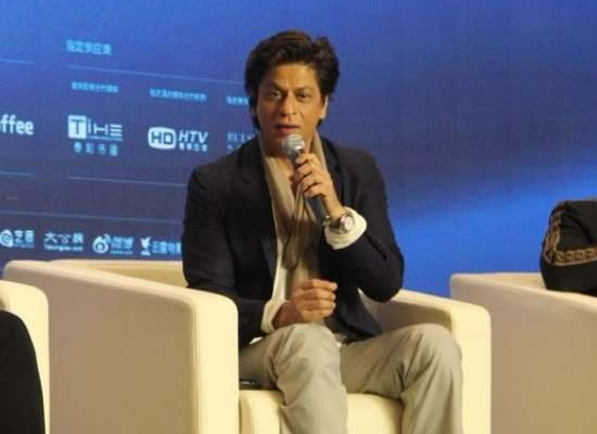 SRK talks about a film with Indian and Chinese superheroes!