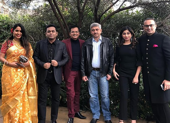 AR Rahman to attend the Grammy Awards 2019 with family!