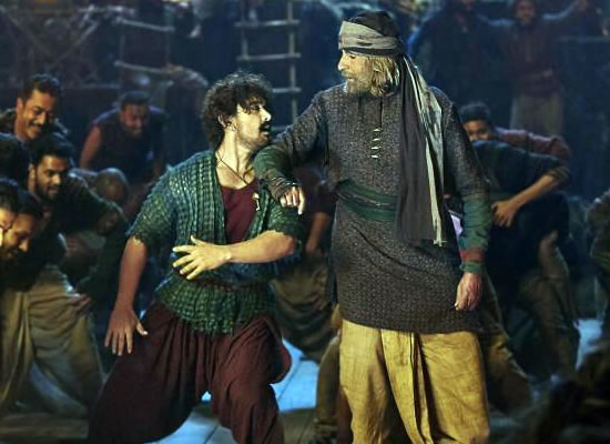 For the first time in my career I have enjoyed dancing, says Aamir Khan about song Vashmalle!