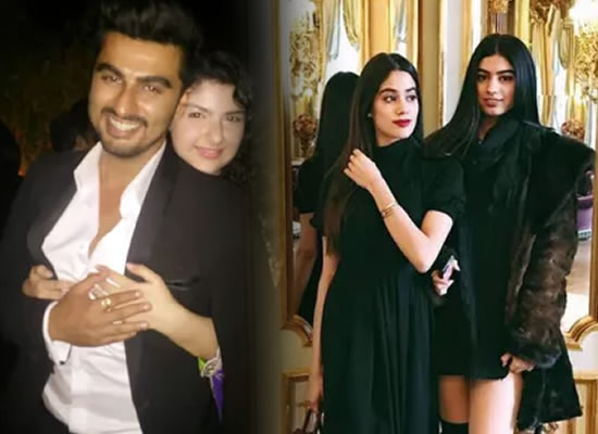 Arjun Kapoor opens up about sisters Anshula, Janhvi and Khushi!