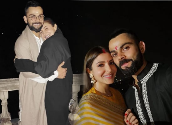 Anushka Sharma's lovely birthday message for hubby Virat Kohli!