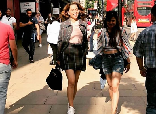 Kangana Ranaut to shop in London during Mental Hai Kya's shoot!