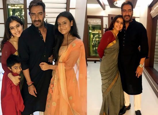 Kajol and Ajay Devgn to celebrate Diwali with kids!