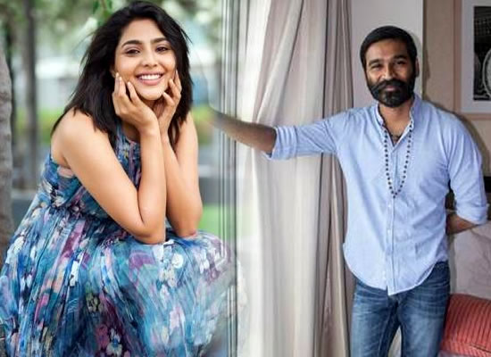 Aishwarya Lekshmi's Tamil debut opposite Dhanush in Karthik Subbaraj's next!
