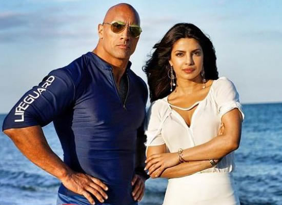 Don't know how many women can say they got to intimidate The Rock, says Priyanka Chopra!