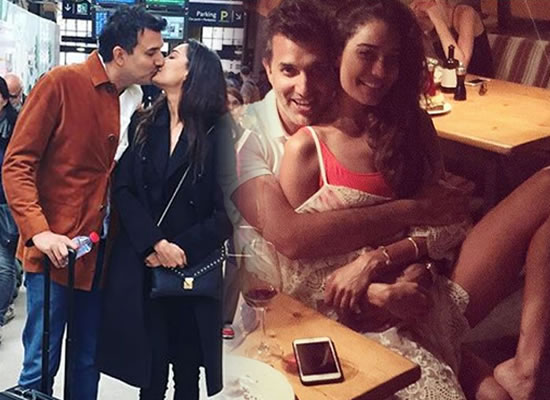Lisa Haydon announces her wedding with a hot kiss!