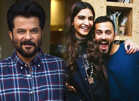 It is not my place to speak about Anand, that is entirely Sonam's prerogative, says Anil Kapoor!
