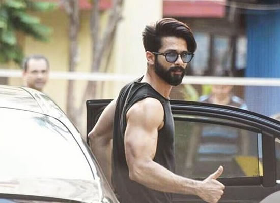 SHAHID GETS IN THE RING!