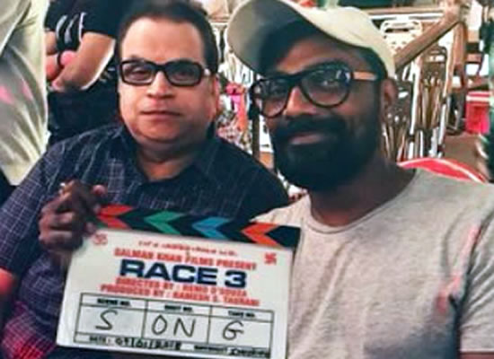 Race 3's team starts shooting for the first song!