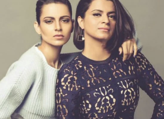 Kangana's sister Rangoli Chandel reacts to rumours of tiff between them!
