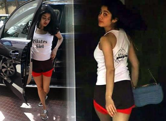 Janhvi Kapoor's lovely gym avatar!