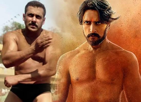 Salman to praise Kichcha Sudeep's powerful performance as a wrestler in Pailwaan!