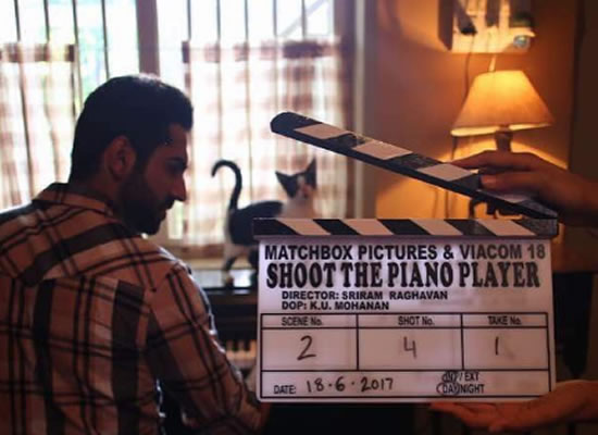 Ayushmann Khurana begins filming for Sriram Raghavan's The Piano Player!