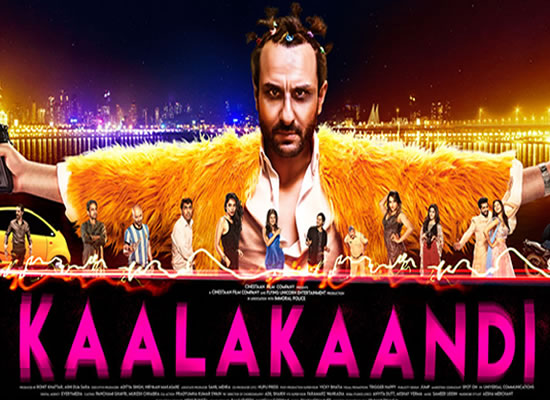 The soundtrack of Kaalakaandi is an average one with a good peppy number as Kalaakaandi.