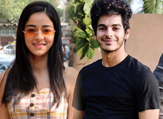 Ananya Panday and Ishaan Khatter to unite for Ali Abbas Zafar's debut production!