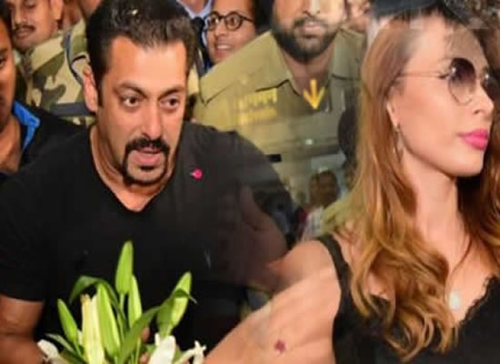 Salman Khan gets mobbed by fans at Jaipur airport!