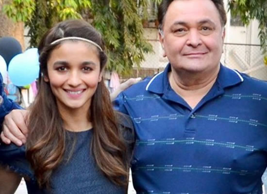 Alia Bhatt wishes to work with veteran Rishi Kapoor once again!