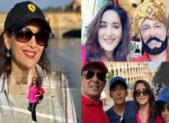 Madhuri Dixit to share lovely pictures from her exotic vacation in Rome!