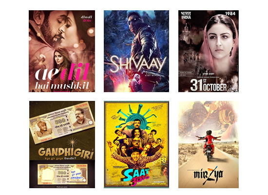 Box Office for the latest week -  3rd November, 2016