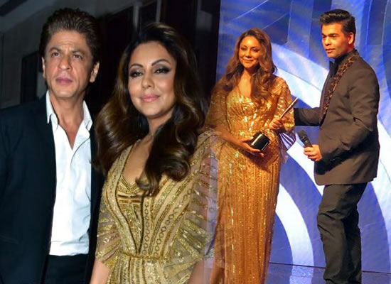 Gauri Khan dedicates her first ever award to SRK!