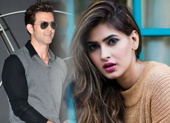 Newbie Karishma Sharma's dance number with Hrithik Roshan in Super 30!