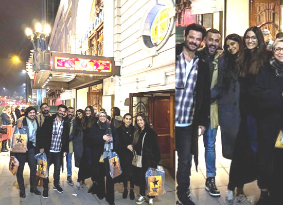 Sonam K Ahuja's vacation time with hubby and family in London!